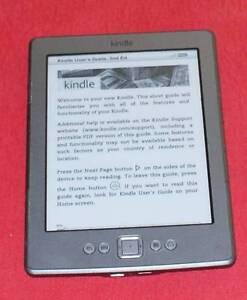 Amazon Kindle Model D01100 eReader-Wifi. Doncaster Manningham Area Preview