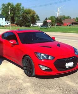 2016 Hyundai Genesis Coupe GT - Fully loaded, 160,000km Wty