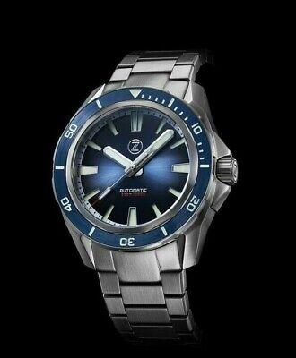 ✅ ZELOS SWORDFISH 300M DIVER MIDNIGHT BLUE LE INTERNATIONAL SHIPPING 🇺🇸 DEALER