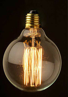 NEW Vintage Large G95 II 40W Edison Squirrel Filament ceiling wall Light bulb