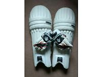 Cricket Batting pads and gloves - Right handed Youths