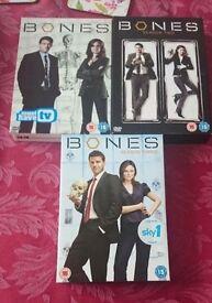 Bones season 1,2,3