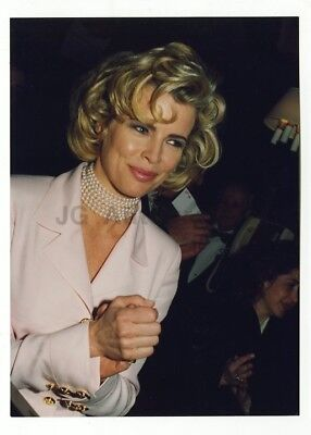 Kim Basinger   Original Candid Photo By Peter Warrack Previously Unpublished