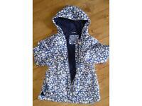 Girls rain coat age 5