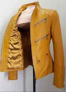 Women's soft leather jacket (Medium) - Signature Piece
