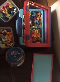 Board and magnetic letters