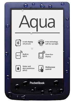 PocketBook Aqua Dustproof Waterproof eBook reader PB640 Electronic Book EInk NEW