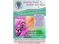 MUMshine Creative Session on 18.10.16 at 10:30 WINSFORD