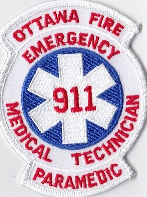 Ottawa Fire 911 Canada Firefighter Patch NEW!!