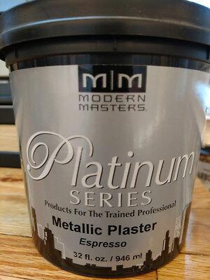 Modern Masters Plaster - PSMP720-32 QT EGGPLANT MODERN MASTERS METALLIC PLASTER