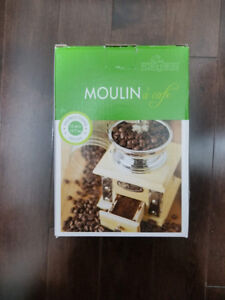 Brand new Moulin a cafe coffee grinder