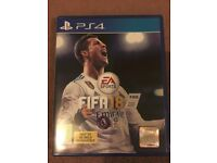FIFA 18 PS4 - BRAND NEW - RECEIPT PROVIDED