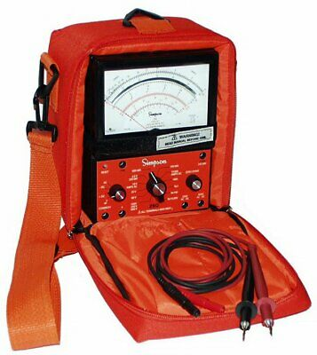 Simpson 260-9sp Industrial Safety Vom With Overload Protection