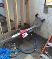 You need some concrete coring done?