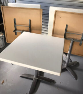 5 cafe dining tables excellent condition