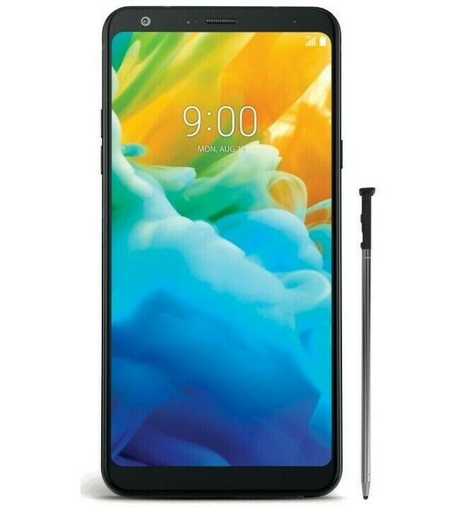 Brand New LG Stylo 4 LGQ710ALBLK 32GB 6.2in Smartphone for S