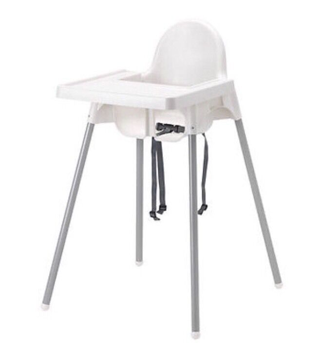 High Chair with Safety Belt with Highchair tray