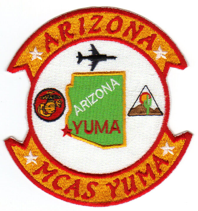 USMC BASE PATCH, MCAS YUMA ARIZONA            Y
