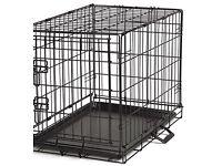 Small/medium dog crate.