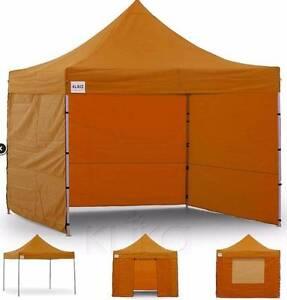 3x3 Marquee - PopUp Gazebo - Orange Truganina Melton Area Preview