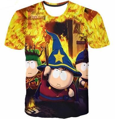- 2018 Fashion Womens/Mens South Park Funny 3D Print Casual T-Shirt Y65