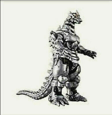 Bandai Movie Monster Series Godzilla Mechagodzilla 2004 Vinyl Figure (US Seller)