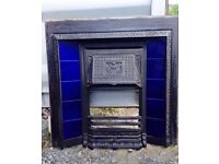 Cast Iron Fireplace Victorian Great Condition