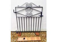 Various wrought iron gates