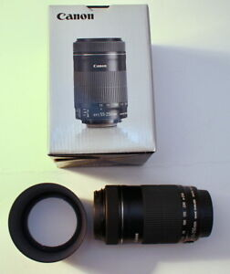 Canon EF-S 55-250mm f/4-5.6 IS STM Near Silent AF for Video