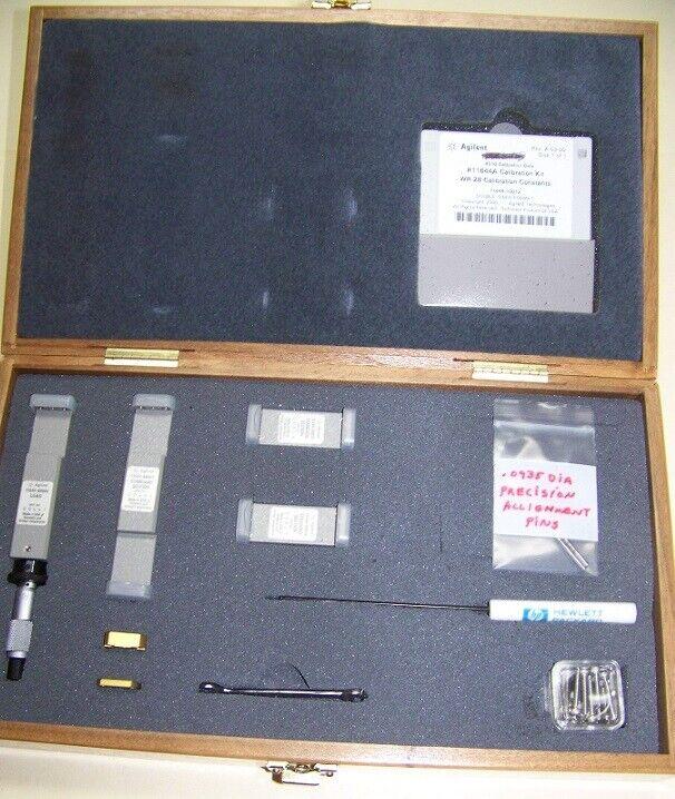 Agilent R11644A Calibration Kit WR-28 26.5-40GHz Original box with accessories!