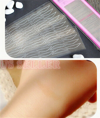 120 Pairs High Quality Super Invisible Clear Lace Transparent Double Eyelid Tape
