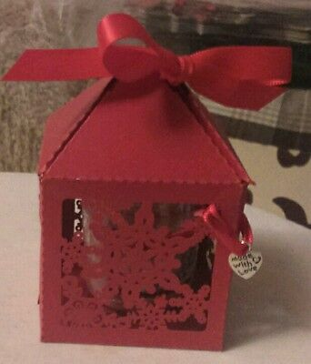 YANKEE CANDLE CHRISTMAS COOKIE VOTIVE SAMPLER IN CHRISTMAS SNOWFLAKE GIFT BOX - Cookie Sampler Gift Box
