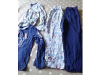 Two pairs of 5-6 year old pjyamas from tu at Sainsbury's