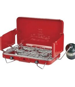 Camping Stove Outbound Deluxe Double Burner Stove
