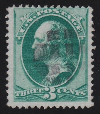 US Scott#136A 1870 I grill - grid of small squares cancel - with 2018 PF cert
