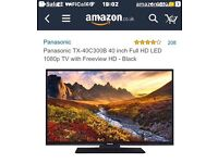 "40"" panasonic led tv brand new in box"