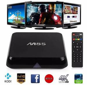 M8S 2016 FULLY LOADED Quad Core ANDROID TV BOX KODI Adelaide CBD Adelaide City Preview