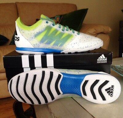06e4433fb542 New Men s Adidas X 15.1 Prime Court Soccer Shoes AF4809 Limited Edition Sz  11
