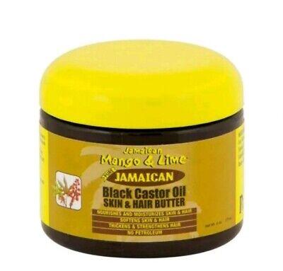 Pure Jamaican Mango & Lime Black Castor Oil