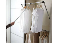 Clothes rail (pull down) 600-830mm