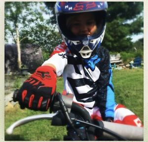 Kids Fox dirtbike gear