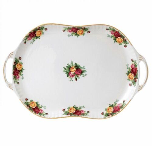 "NEW Royal Albert OLD COUNTRY ROSES 18.9"" Handled Rectangle Platter # 40006484"