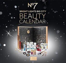 No7 Beauty Advent Calendar 2016. BOLTON. 4 Available! New, sealed.