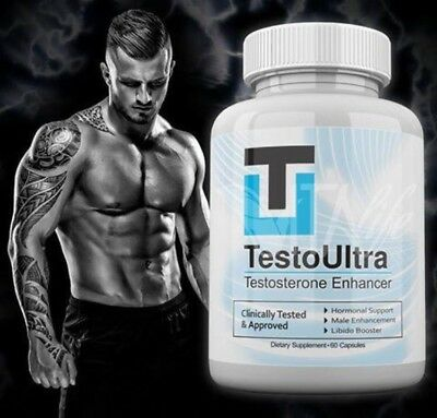 Testo Ultra Testosterone Enhancer TestoUltra / 60 Capsules/Dietary Supplement