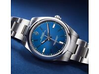 Brand New Rolex Air King 2016 (Blue Face)