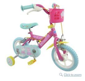 Peppa Pig girls bike 12inch