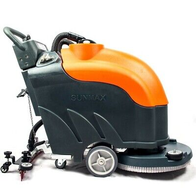 22 Floor Scrubber Dryer With Battery Sunmax Rt50