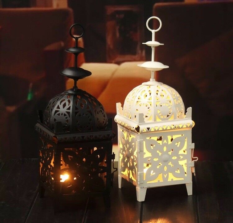 Moroccan Candle Holder Lanterns x3