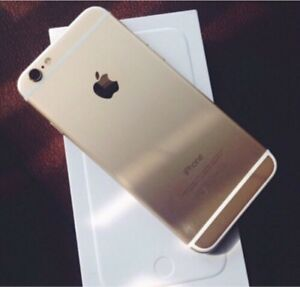 Unlocked Gold IPhone 6 - Perfect 10/10 Condition