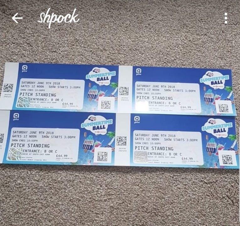 48ff6bb6f Capital Summertime Ball X4 Tickets - standing | in Hillingdon, London ...